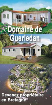 Domaine de Guerledan en Bretagne